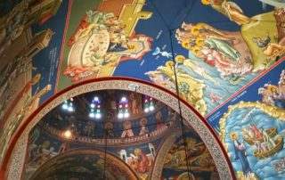 Murals of the Holy Temple of Saint John of Russia
