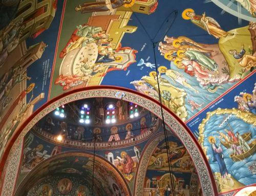 Τοιχογραφίες Ιερού Ναού Όσιου Ιωάννη Ρώσου