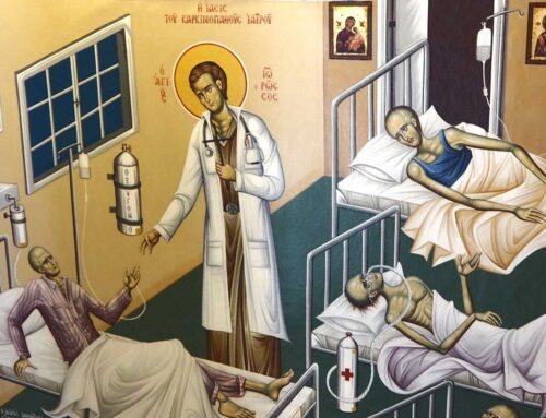 The Healing of the Unbelieving Physician suffering from cancer