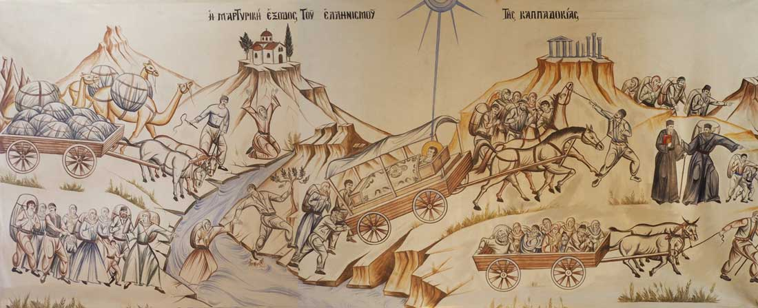 The Martyrdom Exit of Hellenism in Cappadocia