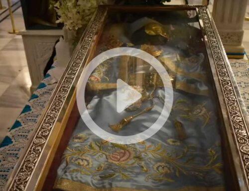 Ιερόν Προσκύνημα Οσίου Ιωάννου του Ρώσσου – Αρχιερατική Θ. Λειτουργία 27-5-2020