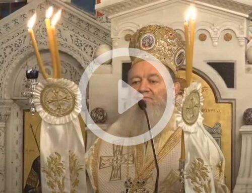 Ιερόν προσκύνημα του Οσίου Ιωάννου του Ρώσσου – Αρχιερατικός Εσπερινός 26-5-2020