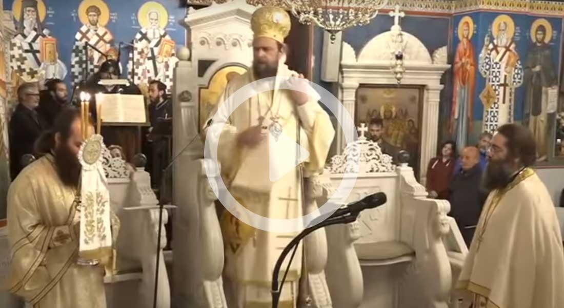 Ιερό προσκύνημα του Οσίου Ιωάννου του Ρώσσου - Ιερά Αγρυπνια 26-5-2020