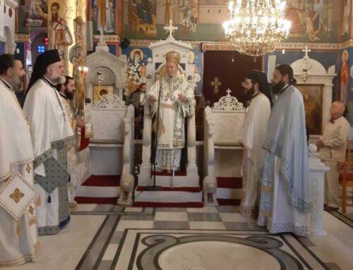 Κυριακή του Τυφλού στο Ιερό Προσκύνημα Οσίου Ιωάννου του Ρώσσου
