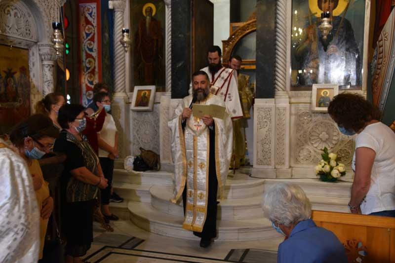 Πανηγυρικός Εσπερινός του Οσίου πατρός ημών Ιωάννου του Ρώσσου