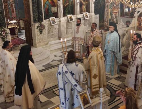 Κυριακή της Σαμαρέιτιδος στο Ιερό Προσκύνημα του Οσίου Ιωάννου του Ρώσσου στο Νέο Προσκοπίο-Χειροθεσία Νέου Πρωτοπρεσβύτερου