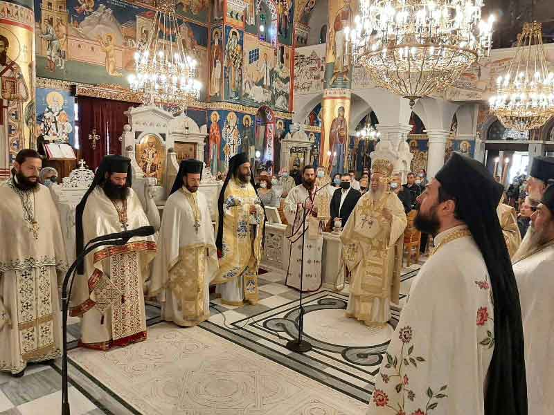 Δεύτερη ετήσια εορτή του Οσίου Ιωάννου του Ρώσου στο νέο Προκόπι Εύβοιας
