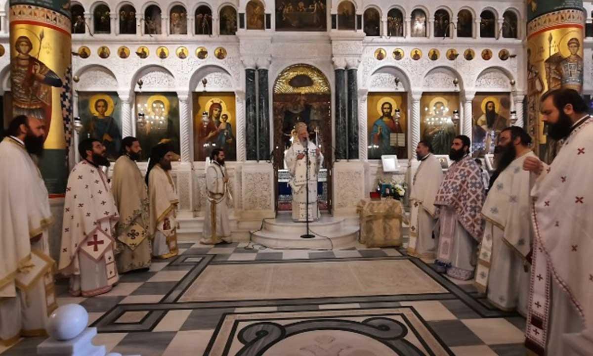 Η Πρώτη Επίσημη Πανήγυρις του Οσίου Δανιήλ του Κατουνακιώτου στο Ιερό Προσκύνημα του Οσίου Ιωάννου του Ρώσου